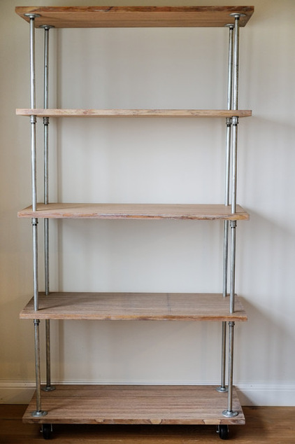 how to make an industrial style shelving unit adam borzy